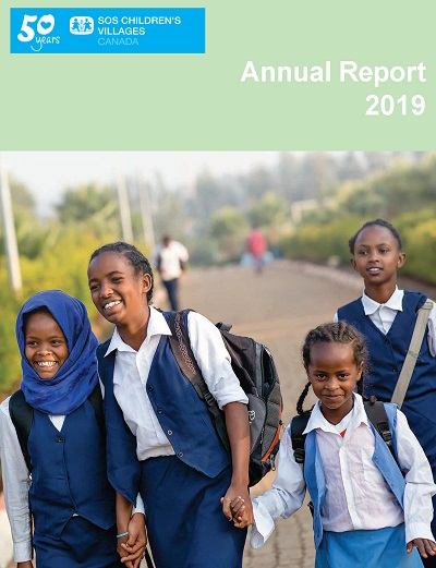 SOS Children's Villages Annual Report 2019 - Cover
