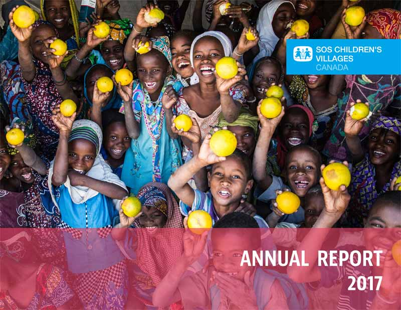 SOS Children's Villages Annual Report 2017 - Cover