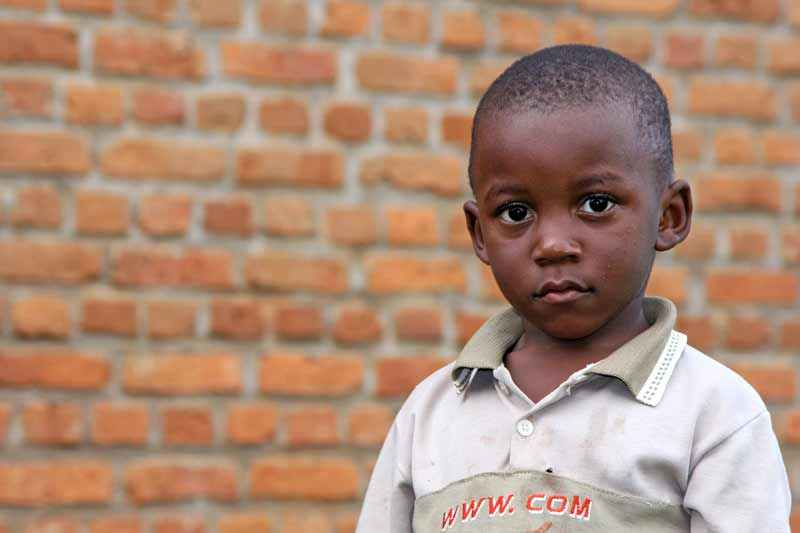Sponsored boy in Burundi