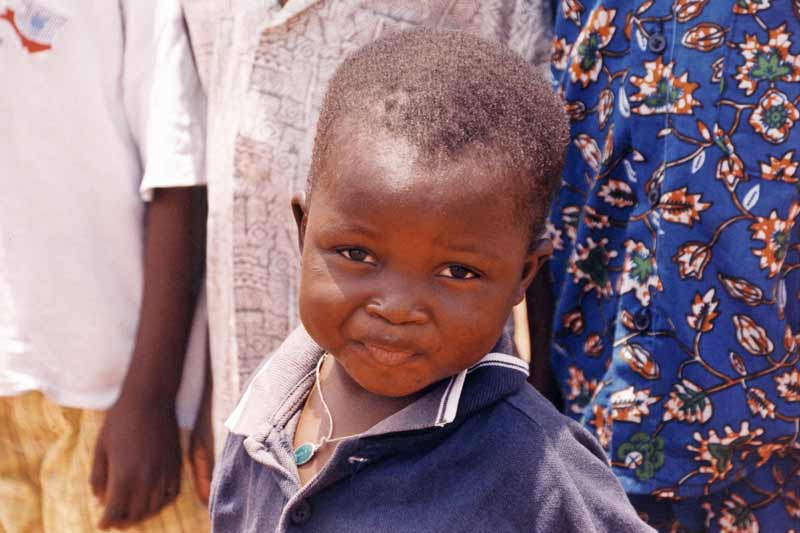 Sponsored child in Burkina Faso