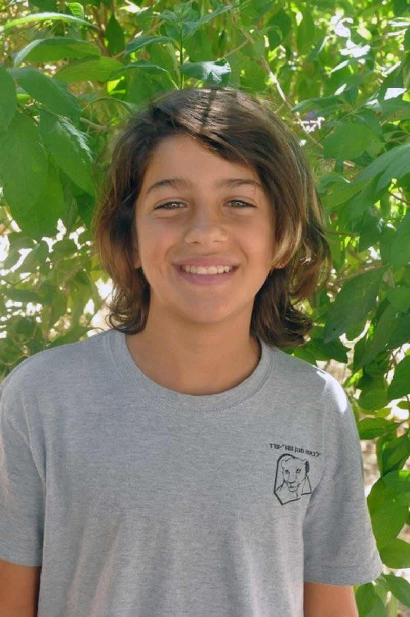 Boy smiling in an SOS Children's Village in Israel