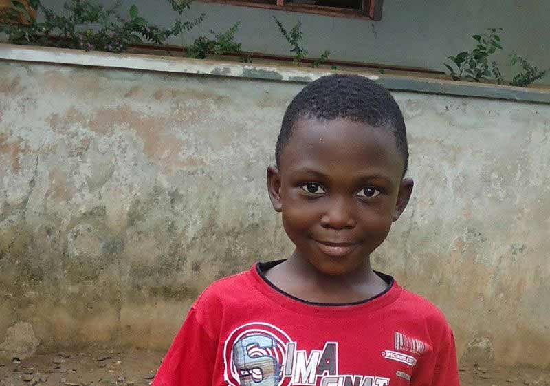 Sponsored boy in Nigeria - Sponsor a child in Nigeria today