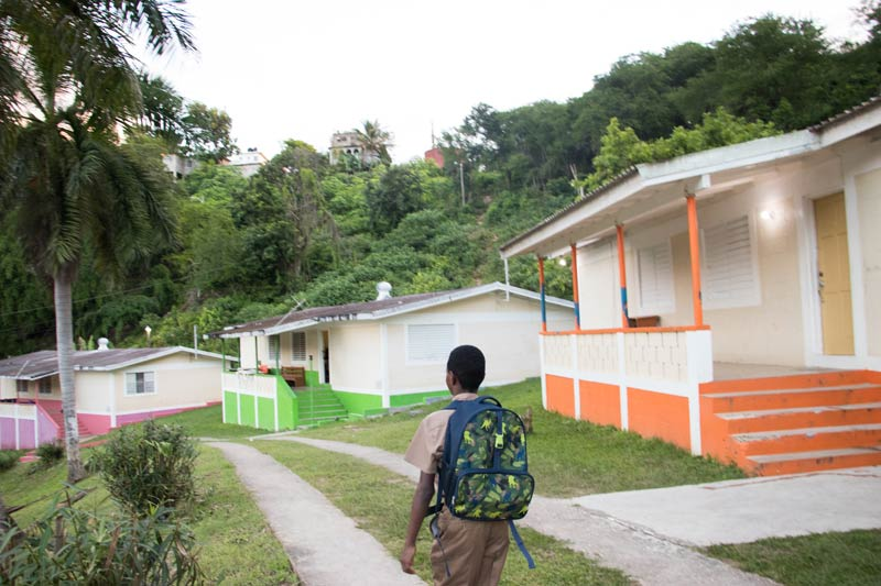 Family homes in Barrett Town Jamaica