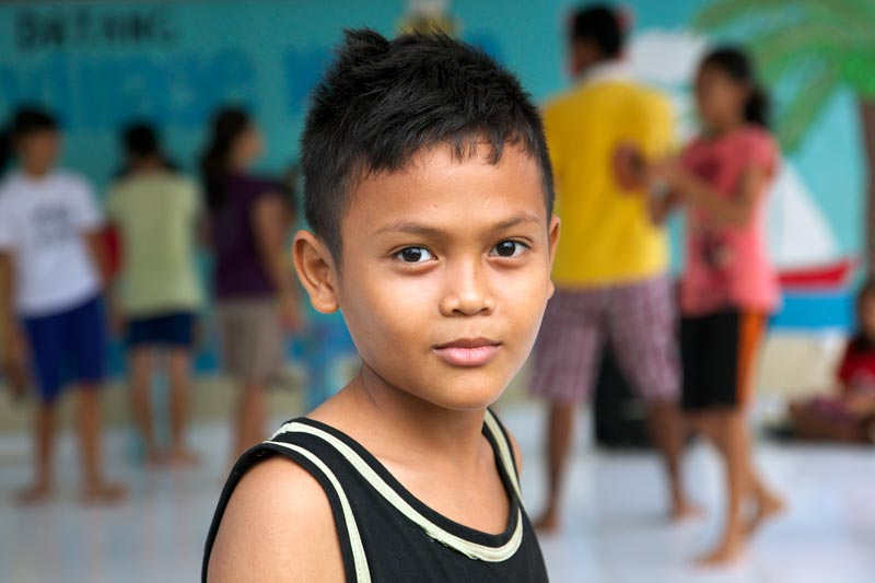 Sponsor a child in Indonesia and give a child a home and a future.