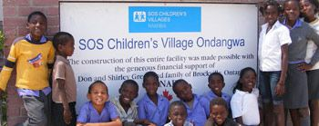 The Green Family SOS Children's Village in Ondangwa