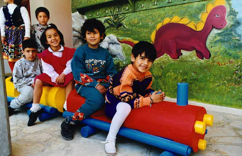 Sponsored children in Norther Cyprus