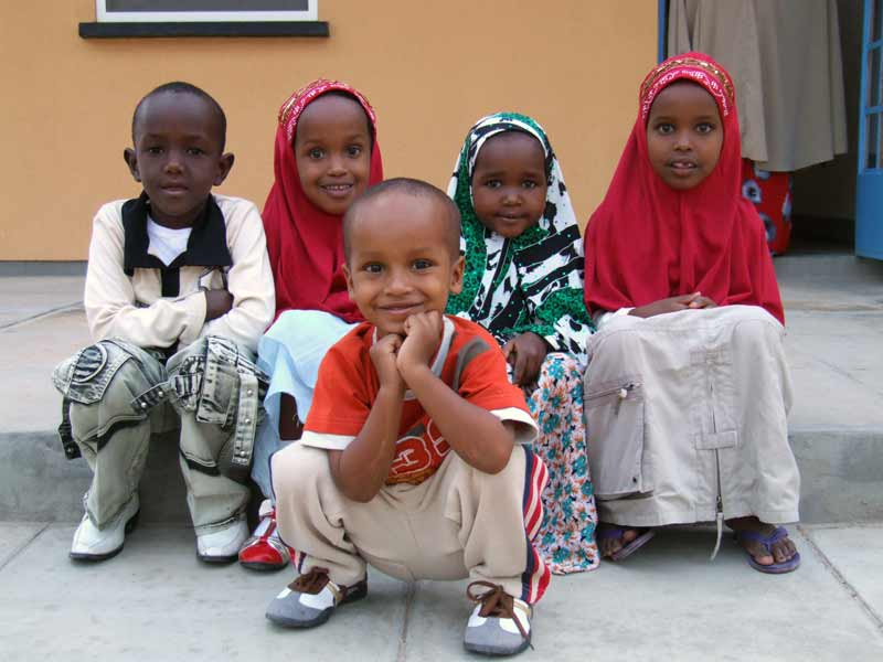 Sponsored Somalilander children
