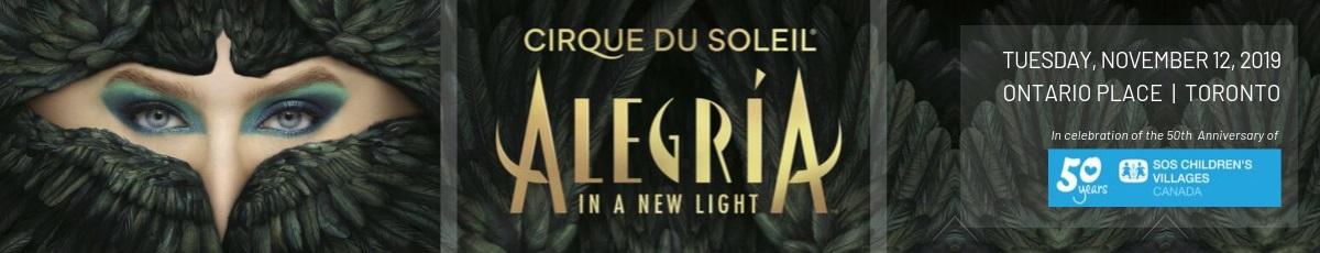 Cirque du Soleil Alegria banner