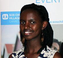 Divine Usabase, SOS Children's VIllages Youth Ambassador