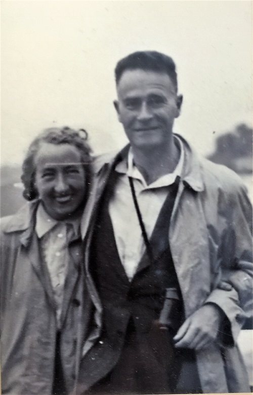 Elsie and Paul Mandel Early Years Together