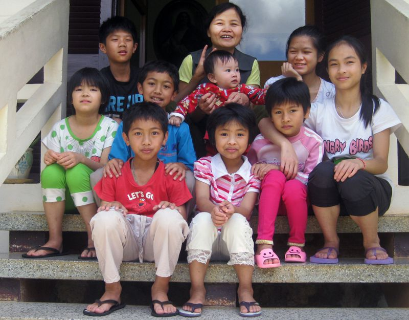 Caring for orphaned and abandoned children in Da Lat, Vietnam