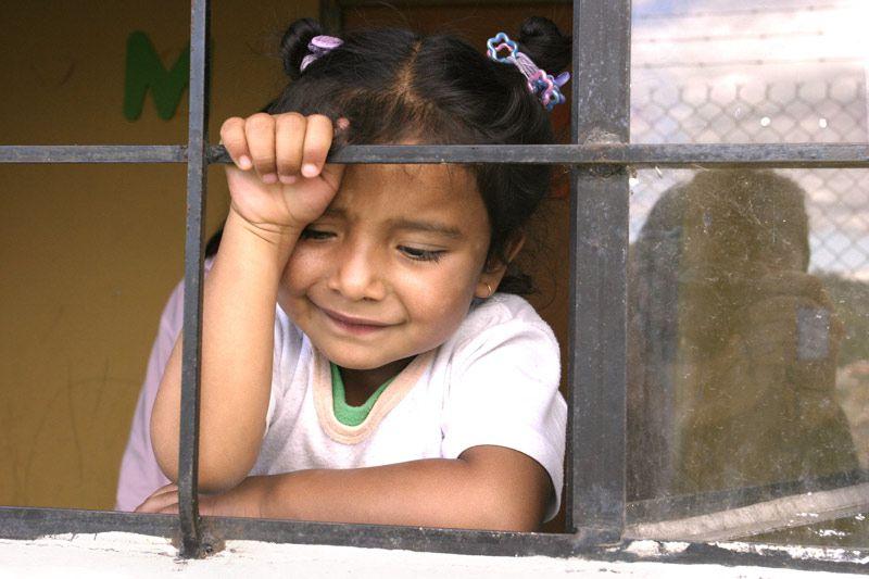 SOS sponsored child in Ecuador