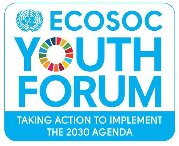ECOSOC Youth Forum Logo