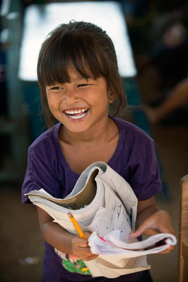 Smiling child - Child sponsorship matters
