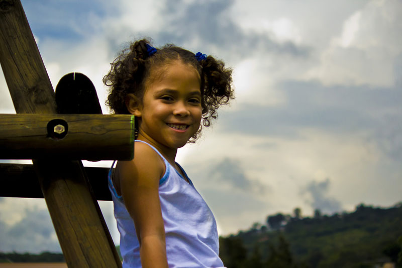 Sponsored child smiling in Costa Rica