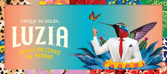 Cirque du Soleil - Luzia - A waking dream of Mexico