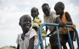 Children at Play in Malakal