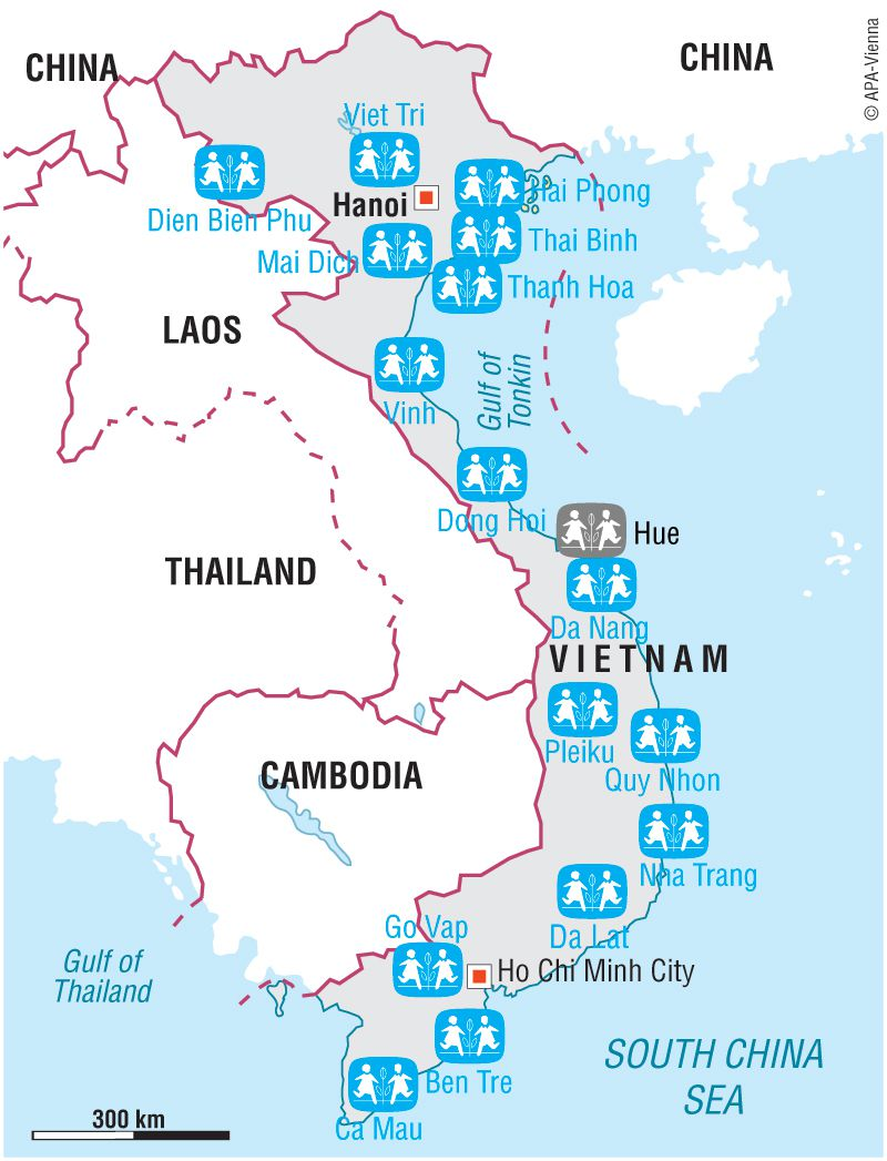 Dien Bien Phu Vietnam Map.Sponsor A Child In Vietnam