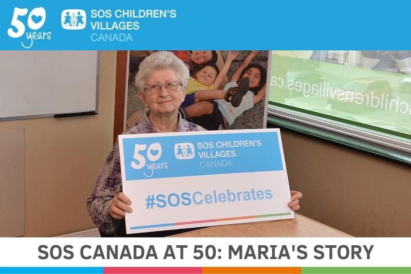 Maria celebrates 50 years with SOS Canada