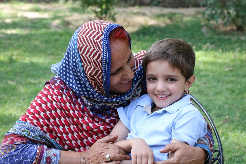 SOS mother and child in Pakistan