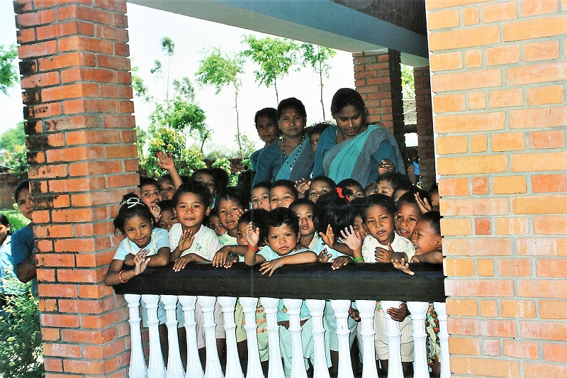 SOS daycare in Nepal