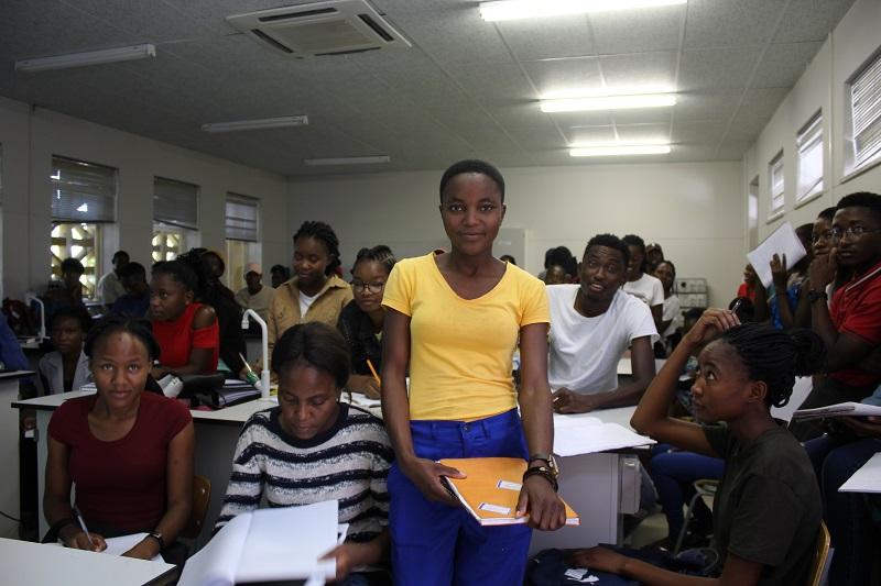 Akpena in class