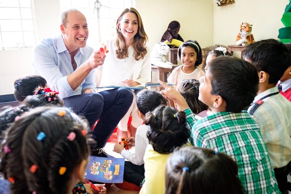 The Duke and Duchess of Cambridge visit an SOS Children's Village  © Adam Vallance / Kensington Palace