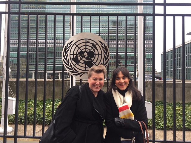 SOS staff at the UN in New York City