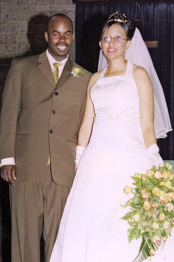 Former SOS youth with his new bride