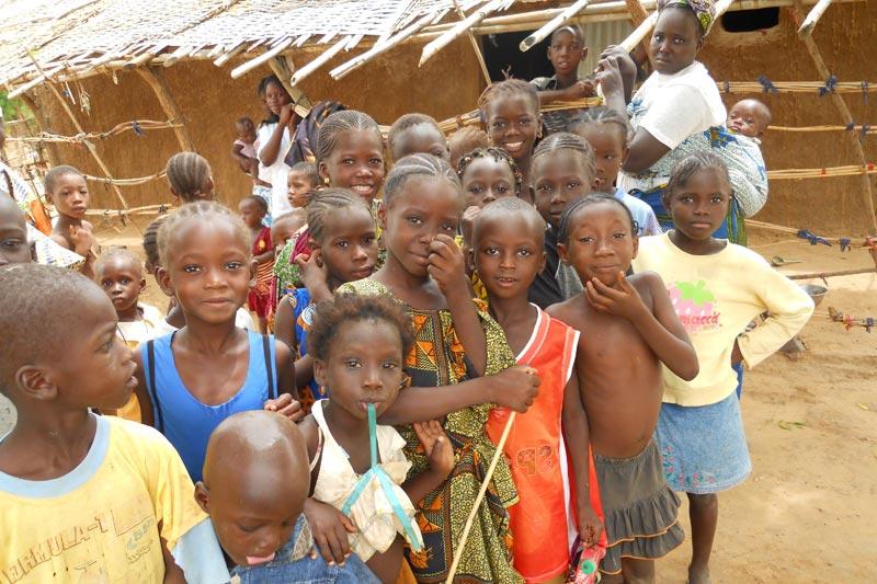 Children in Khouloun, Mali