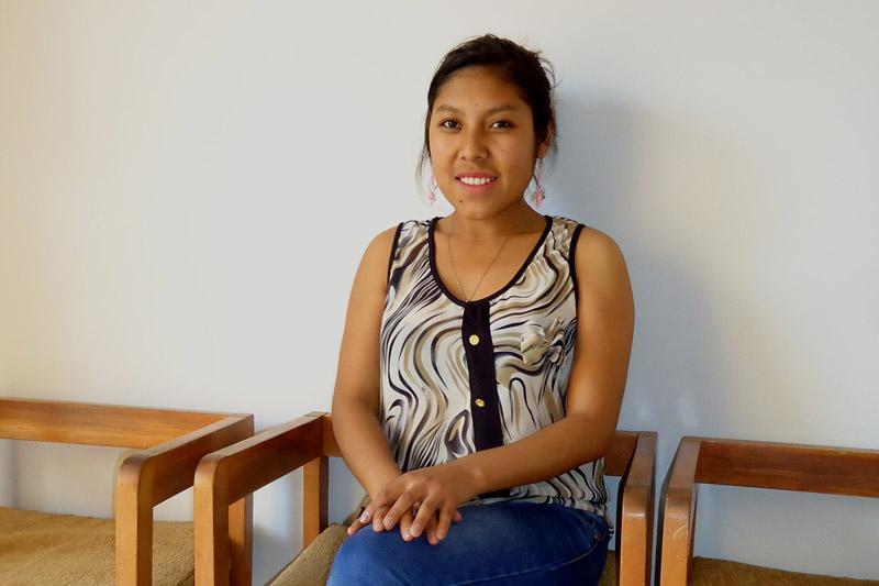 Young woman, SOS Alumni in Peru