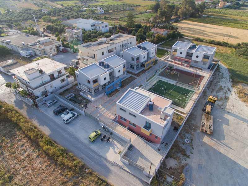 New SOS Children's Village in Crete, Greece