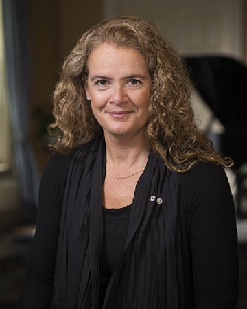Governor General Julie Payette Official Portrait