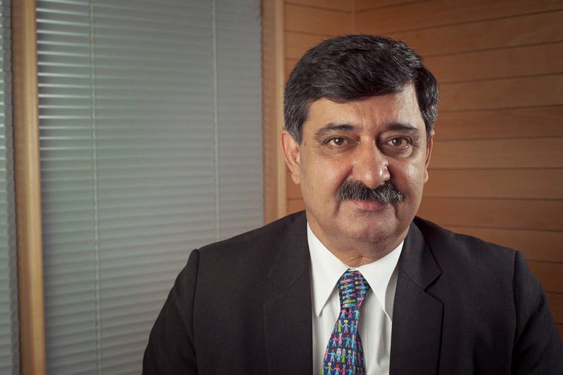 President of SOS Children's Villages International Siddhartha Kaul