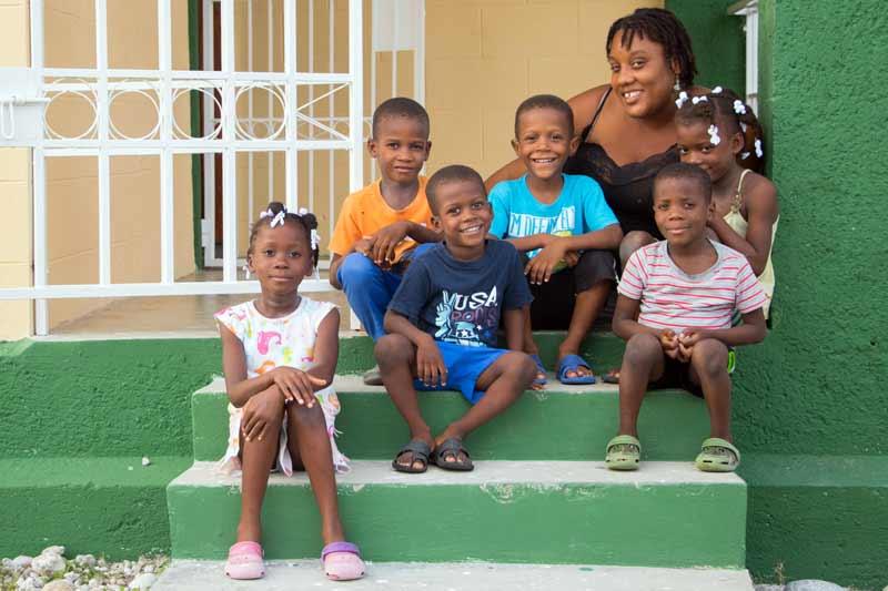 SOS Family in Les Cayes, Haiti