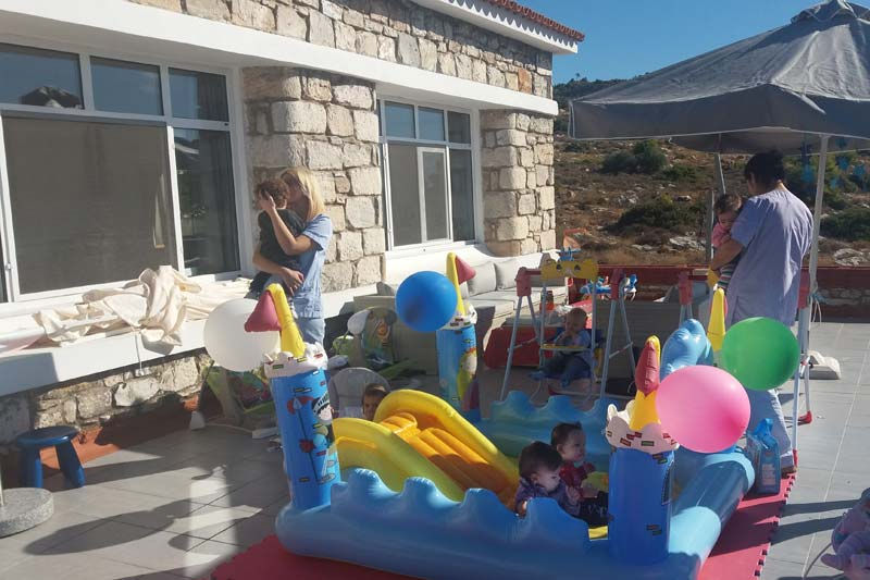 SOS Children's Villages home for babies in Athens, Greece