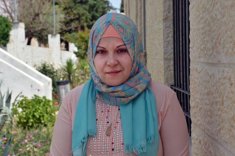SOS mother Fidaa from SOS Children's Village Bethlehem
