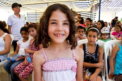 Sponsored girl smiling in Lebanon
