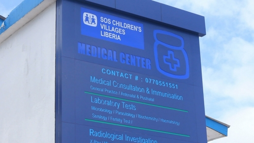 SOS Medical Centre in Monrovia, Liberia