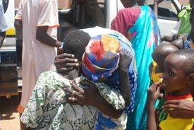 Families reunited in Juba