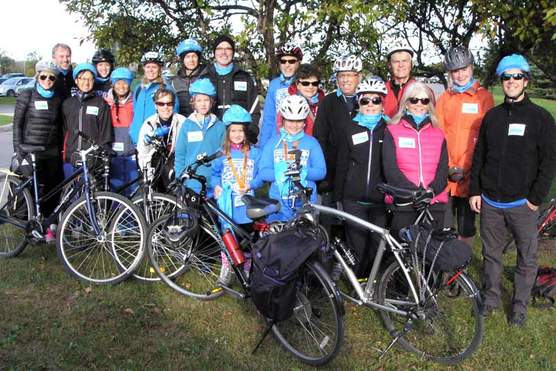 Ride for refuge group photo