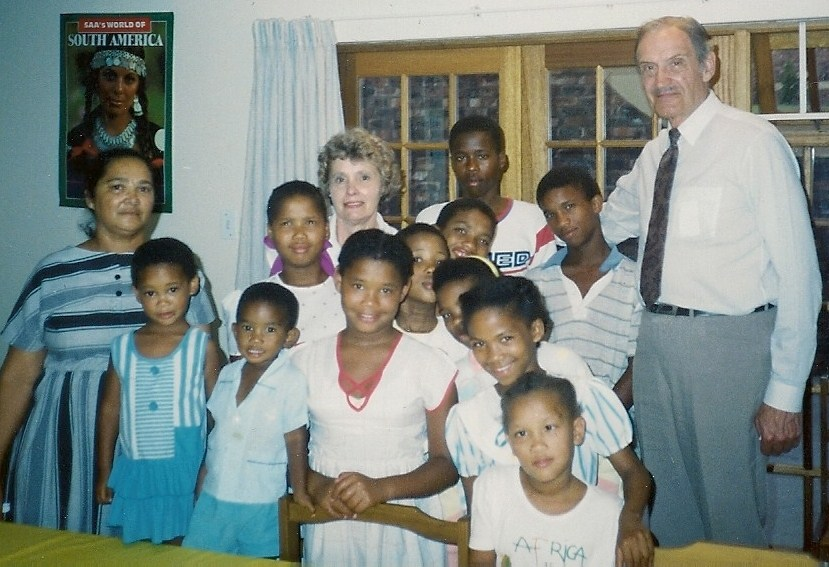 Ruth and Glenn Wilms in Swaziland