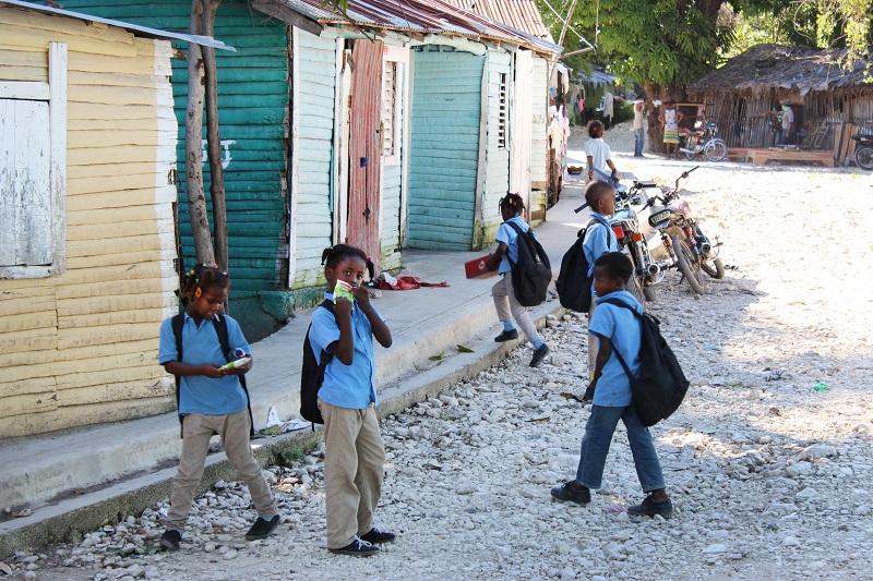 School Children in Dominican Republic