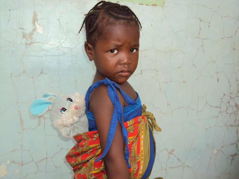 Sponsored girl in an SOS Village in Chad