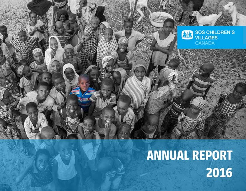 SOS Children's Villages Annual Report 2016