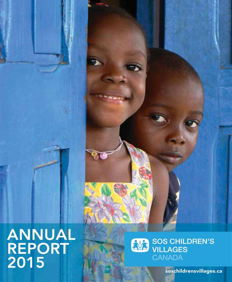 SOS Children's Villages Annual Report 2015
