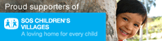 Proud supporters of SOS Children's Villages Canada