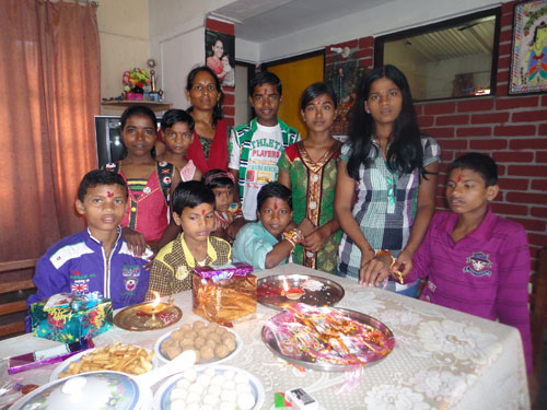 SOS Family in SOS Children's Villages Begu Sarai, India