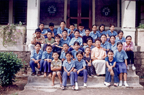 SOS Family in Bylakuppe, India