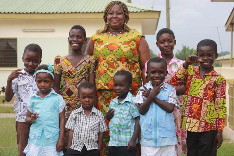 sponsor a child in ghana